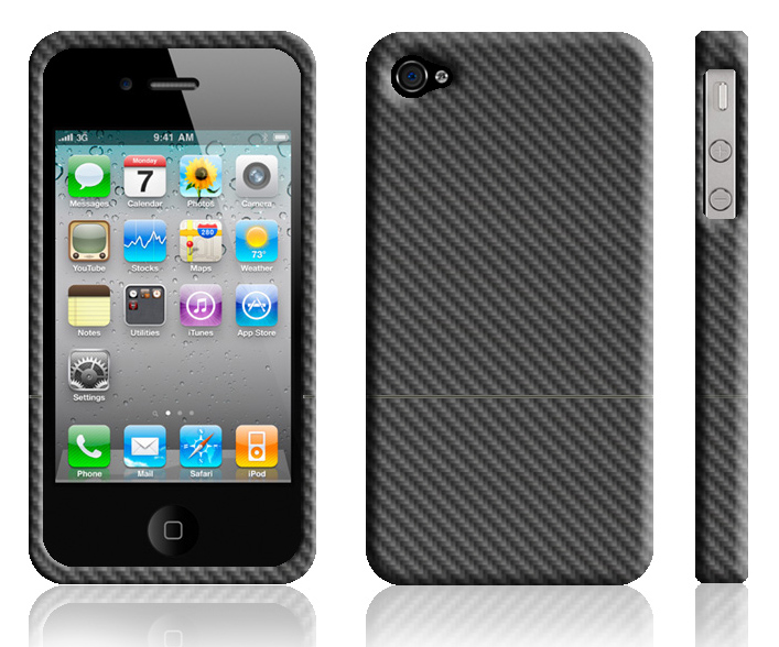 Carbon Fiber iPhone 4 Cases